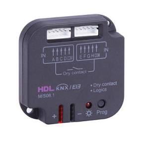 HDL-M/S08.1 8-контактный модуль входов KNX