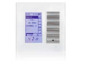 SB-DLP4-MEU Клавишная настенная панель с экраном DLP slim, европейский стандарт