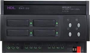 HDL-M/DL04.1 DIN диммер 4-канальный, 3А на канал, KNX