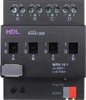 HDL-M/R04.16.1 DIN реле, 4-канальное, 16A на канал, KNX