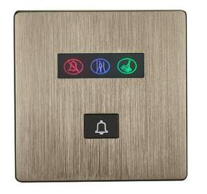 HDL-MPB03.48 Панель звонка 3S серии iElegance, Brushed Bronze