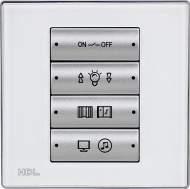 SB-WS8M-EU 8-клавишная панель, большие 2-позиционные клавиши, европейский стандарт