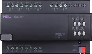 HDL-M/DA6.10.1 DIN диммер для управления до 6 каналов 0-10V (для диммирования флуоресцентных трубочных ламп)