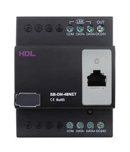 SB-DN-48HNET Хост управления гостиничным номером, 48 каналов, встроенная логика (Ethernet, Buspro)