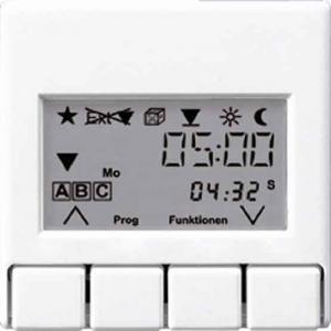 A5232T3 АS 500 БежНакладка жалюзийного выключателя УНИВЕРСАЛ с таймером(мех.220ME,230ME,232ME,224ME)