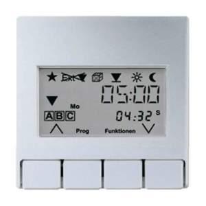 A5232T3AL А 500 АлюминийНакладка жалюзийного выключателя УНИВЕРСАЛ с таймером(мех.220ME,230ME,232ME)