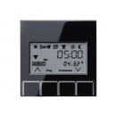 A5232T3SW А 500 ЧерныйНакладка жалюзийного выключателя УНИВЕРСАЛ с таймером(мех.220ME,230ME,232ME)