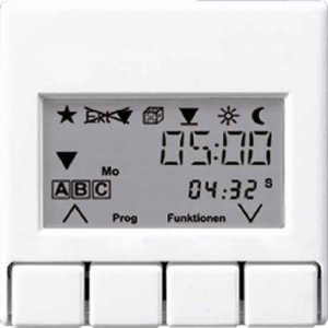 A5232T3WW А 500 БелНакладка жалюзийного выключателя УНИВЕРСАЛ с таймером(мех.220ME,230ME,232ME,224ME)