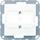 A569-21ACSWW А 500Бел Крышка для двойных модульных разъемов Reichle + De-Massari