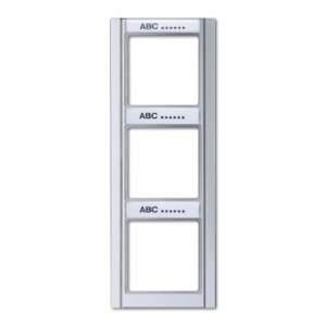 A583NAAL А 500Алюминий Рамка 3-я с шильдиком вертикальная