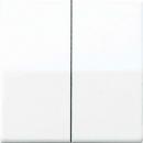 ABAS1565.07 АS 500Беж антибактериальный Накладка светорегулятора 2-х канального нажимного