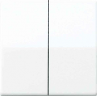 ABAS1565.07WW АS 500Бел антибактериальный Накладка светорегулятора 2-х канального нажимного