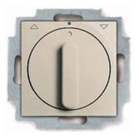 1101-0-0923 (2723 UCDR-92) BJB Basic 55 Беж Выключатель жалюзийный поворотный без фиксации