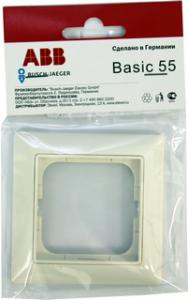 B 2511-94 BJB Basic 55 DIY Бел Рамка 1-ая