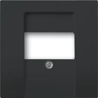 1710-0-3903(1766-885) BJE Solo/Future Черный бархат Накладка для TAE-розетки, моно-/стерео аудио розетки