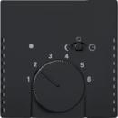 1710-0-3909(1795-885) BJE Solo/Future Черный бархат Накладка для терморегулятора (мех 1095 U, 1096 U)