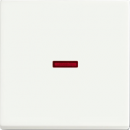 1751-0-3033(1789-884) BJE Solo/Future Белый бархат Клавиша 1-ая с красной линзой