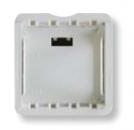 N2692 BL NIE Zenit Бел Адаптер для установки на DIN-рейку, 2-модульный
