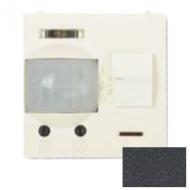 N2241 AN NIE Zenit Антрацит Датчик движения ИК (реле) 3-х пров.схема подключения 2 мод