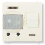 N2241 BL NIE Zenit Бел Датчик движения ИК (реле) 3-х пров.схема подключения 2 мод