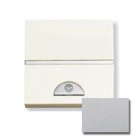 N2262.1 PL NIE Zenit Серебро Электронный выключатель на МОПТ с таймером 10 сек-10 мин.,40-500 Вт,2 мод