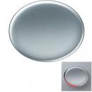 5501.3 PL (5501_3 PL) NIE Tacto Серебро Клавиша 1-ая с линзой подсветки