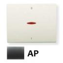 8401.4 AP NIE Olas Перламутровый металлик Клавиша 1-я с/п для 2-х полюсного выключателя