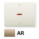 8401.4 AR NIE Olas Песочный Клавиша 1-я с/п для 2-х полюсного выключателя
