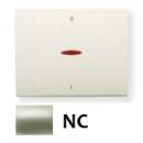 8401.4 NC NIE Olas Никель Клавиша 1-я с/п для 2-х полюсного выключателя