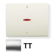8401.4 TT NIE Olas Титан Клавиша 1-я с/п для 2-х полюсного выключателя