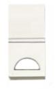 N2101.9 BL NIE Zenit Бел Клавиша 1-я с окошком для шильдика 1 мод