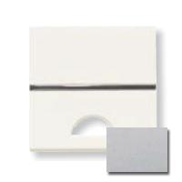 N2201.9 PL NIE Zenit Серебро Клавиша 1-я с окошком для шильдика 2 мод