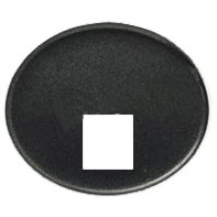 5517.1 AN (5517_1 AN) NIE Tacto Антрацит Накладка розетки ТЛФ/комп (RJ45) 1-ая