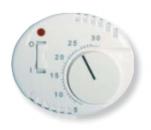 5540.1 BL (5540_1 BL) NIE Tacto Бел Накладка терморегулятора 8140.1