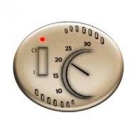 5540.1 CV (5540_1 CV) NIE Tacto Шампань Накладка терморегулятора 8140.1