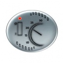 5540.1 PL (5540_1 PL) NIE Tacto Серебро Накладка терморегулятора 8140.1