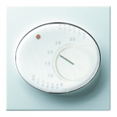 5540 BL NIE Tacto Бел Накладка терморегулятора 8140