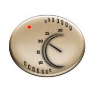 5540 CV NIE Tacto Шампань Накладка терморегулятора 8140