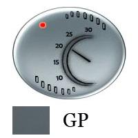 5540 GP NIE Tacto Серый Накладка терморегулятора 1076U/1079U