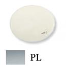 5560.1 PL (5560_1 PL) NIE Tacto Серебро Накладка светорегулятора нажимного