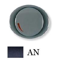 5560 AN NIE Tacto Антрацит Накладка светорегулятора поворотно-нажиного