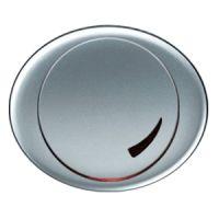 5560 PL NIE Tacto Серебро Накладка светорегулятора поворотно-нажиного