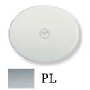 5562 PL NIE Tacto Серебро Накладка таймера-выключателя 1000W (650VA)