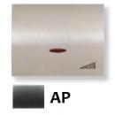 8460.1 AP NIE Olas Перламутровый металлик Накладка светорегулятора нажимного