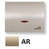 8460.1 AR NIE Olas Песочный Накладка светорегулятора нажимного