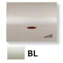 8460.1 BL NIE Olas Белый Накладка светорегулятора нажимного