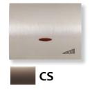 8460.1 CS (8460_1 CS) NIE Olas Атласная медь Накладка светорегулятора нажимного
