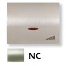 8460.1 NC NIE Olas Никель Накладка светорегулятора нажимного