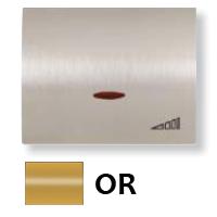 8460.1 OR NIE Olas Золото Накладка светорегулятора нажимного