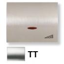 8460.1 TT NIE Olas Титан Накладка светорегулятора нажимного